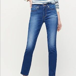 NEW J Crew Vintage Denim Jeans